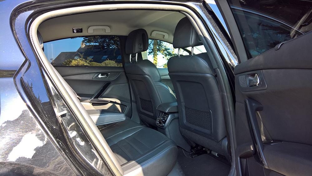Intérieur véhicule Gold VTC